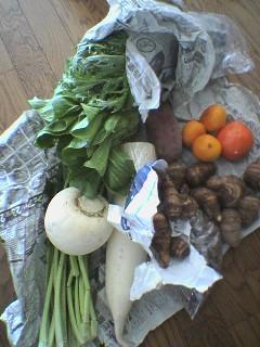 野菜だ、野菜だ!